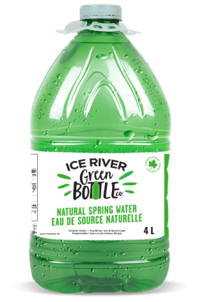 4L bottle of Ice River water